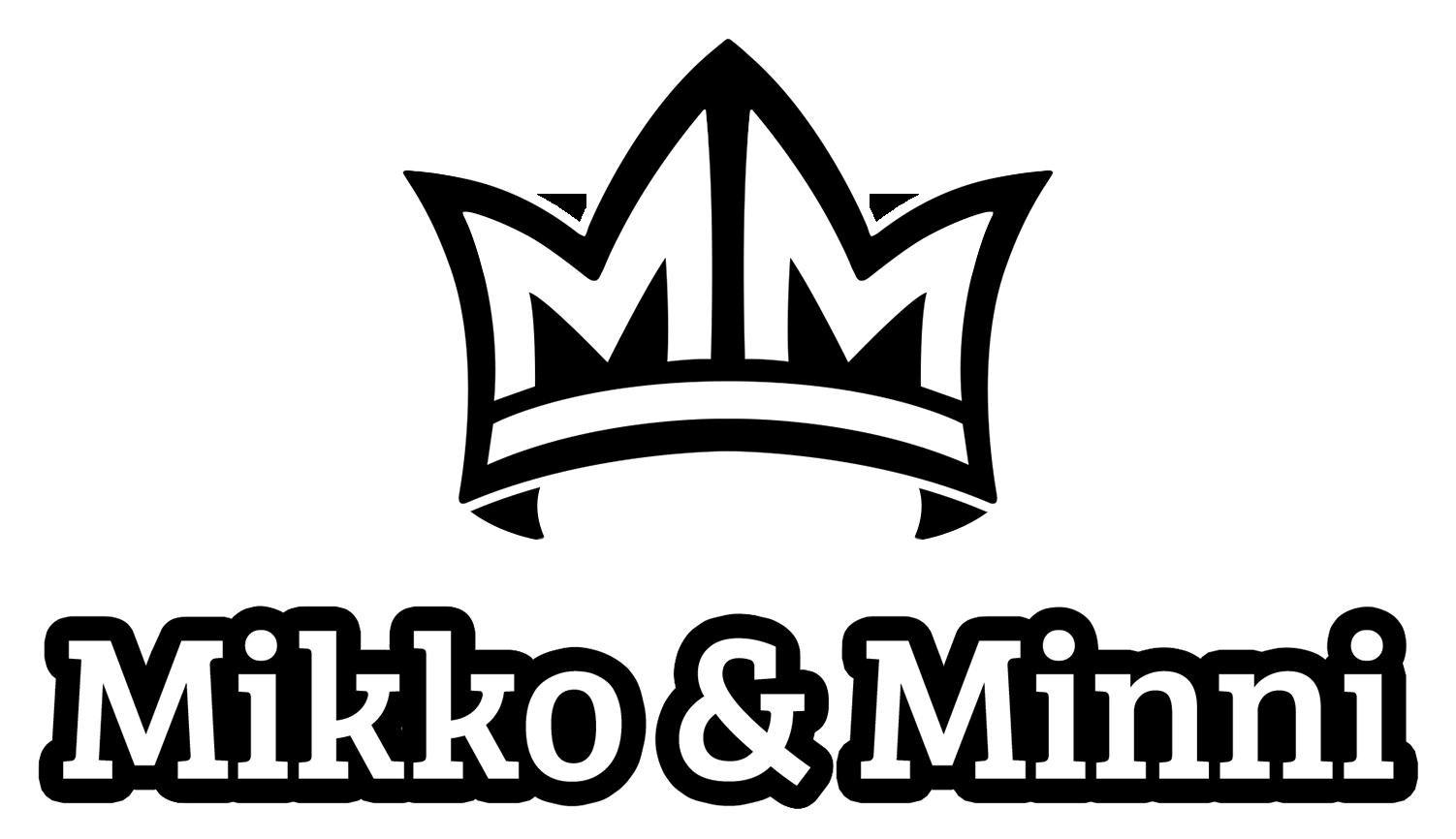 Mikko & Minni - logo tekstillä